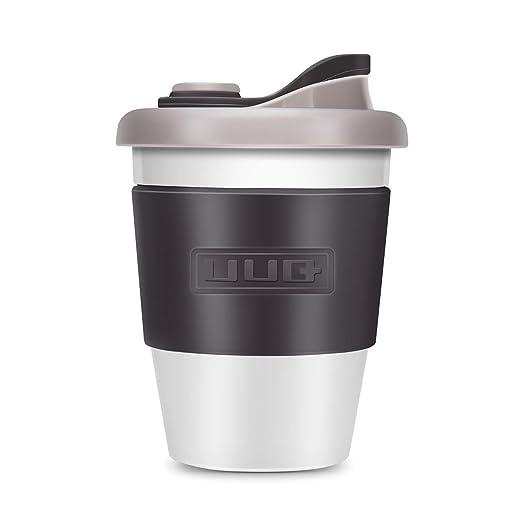 UUQ Mug Café Reutilizable, Taza de Café, Café para Llevar, 12 oz ...