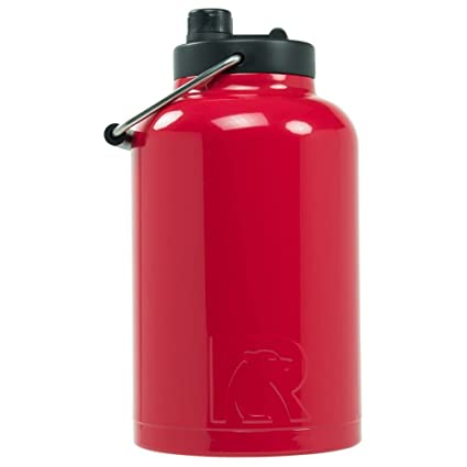 0ddead7a974 Amazon.com: RTIC One Gallon Vacuum Insulated Jug, Red: Kitchen & Dining