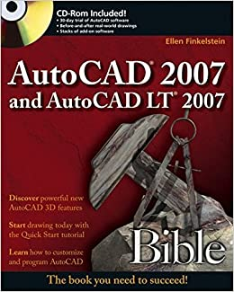 Book AutoCAD 2007 and AutoCAD LT 2007 Bible