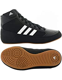 Hvc Mens Blue Synthetic Athletic Lace Up wrestling Shoes