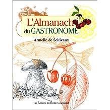 ALMANACH DU GASTRONOME