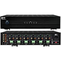 OSD Audio MX1260 12 Channel, Six Stereo Zones, 60 Watt Peak per Channel, or Bridged Mono 80 Watts per Zone/Channel, Includes a choice of direct input or Dual Universal Bus Inputs selectable per  per channel