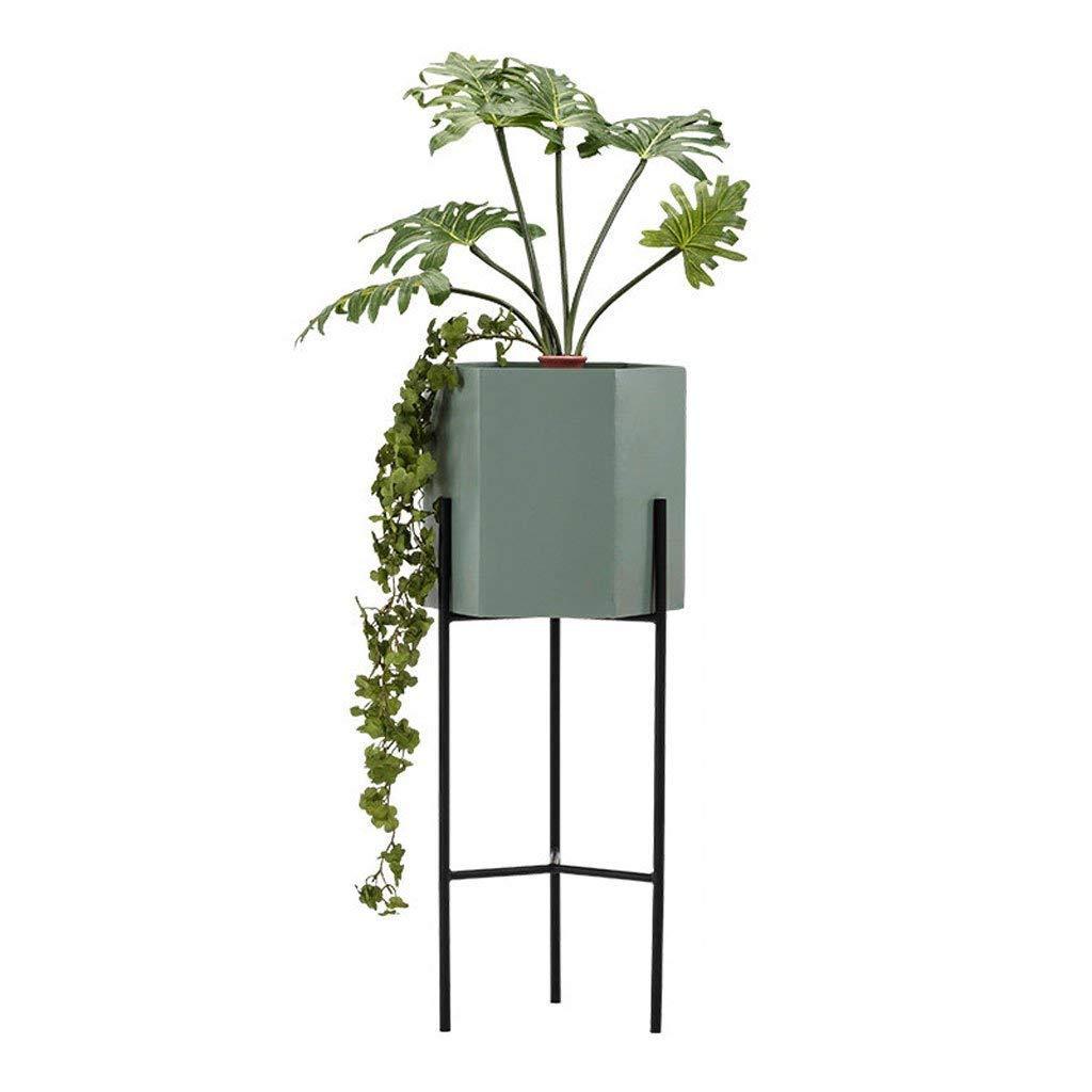 独立した金属製のディスプレイスタンド、垂直の花瓶、花や植物 (色 : 1#, サイズ さいず : 17.5 * 60CM) B07JN1ZTWM 17.5*60CM 1# 1# 17.5*60CM