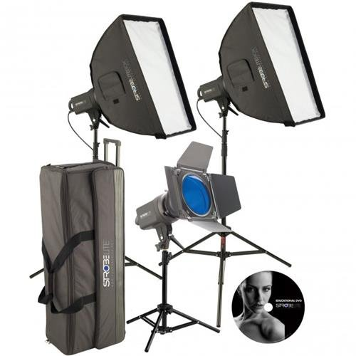Photo Basics 231 Strobelite Plus Three Light Kit (231 Light)