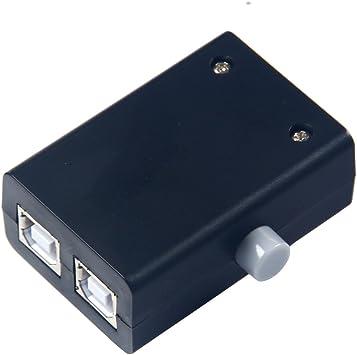 Caja toma para compartir puertos USB de Winwill, contiene dos ...