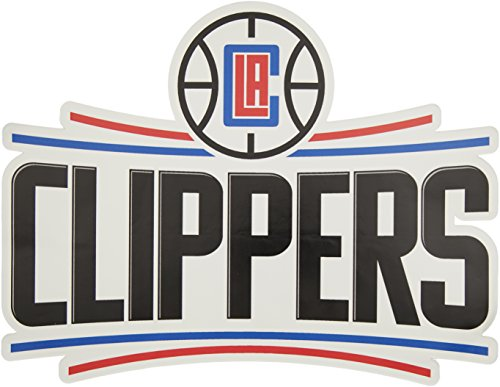 Applied Icon, NBA Los Angeles Clippers Outdoor Small Primary Logo Graphic Decal ()
