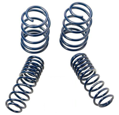 2005-2014 Mustang GT Coupe Front & Rear Lowering Springs M-5300-KA (Lowering Gt Mustang Spring)