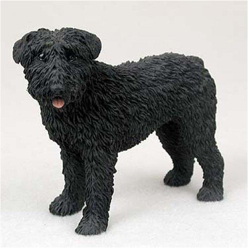 Bouvier Dog Figurine - Bouvier, Uncropped Original Dog Figurine (4in-5in)