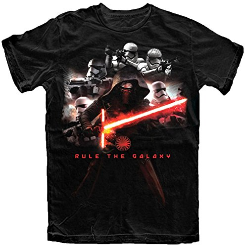 Star Wars Mens' The Force Awakens Kylo Ren T Shirt (Large)