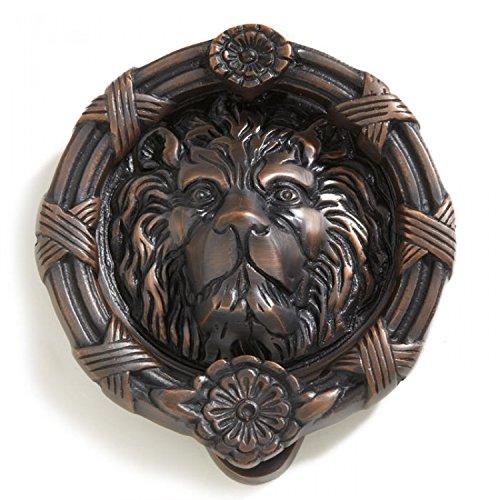 Height Bronze Door Knocker (Casa Hardware Lion Head Brass Door Knocker in Oil Rubbed Bronze Finish)