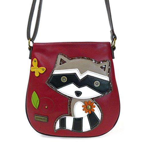 (Chala Deluxe Messenger Bag - 818 (Raccoon)