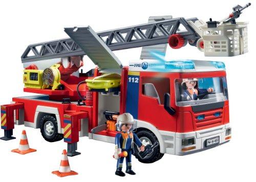 De Escalera4820 Con Camión Bomberos Playmobil AL5j3R4q