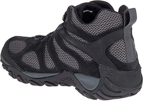Merrell Yokota 2 Mid Waterproof J46543 de Randonnée Chaussures Bottes pour  Homme J46543 Black 44.5 EU  Amazon.fr  Chaussures et Sacs 83f3503b469