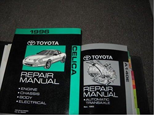 1996 TOYOTA CELICA Service Repair Shop Manual Set W Electrical & Transaxle Book