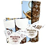 Bouquet Set - Cowboy Baby - Bib And Burp