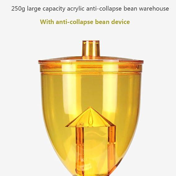 WUPYI2018 dise/ño retro Molinillo de caf/é el/éctrico de acero inoxidable