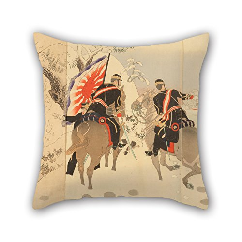 elegancebeauty-cushion-covers-of-oil-painting-toshiaki-sino-japanese-war-severe-battle-of-our-army-a