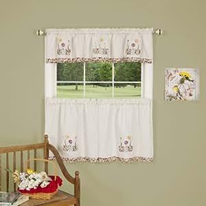 Achim Home Furnishings Daffodil Window Curtain