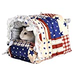 A fine Gift Hammock Bed House for Rabbit Guinea Pig Hanging Bed Small Animals Cage