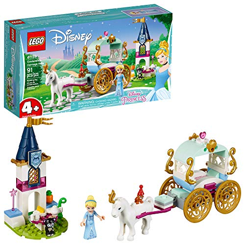 LEGO l Disney Cinderella's Carriage Ride 41159 4+ Building Kit (91 Piece) (Disney Cinderella Carriage)