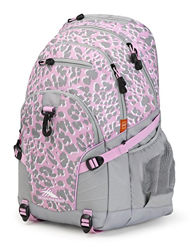 High Sierra Loop Backpack, Shadow Leopard/Ash/Iced Lilac