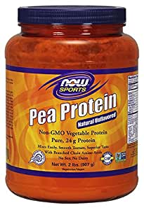 Now Pea Protein Unflavored 2 lbs