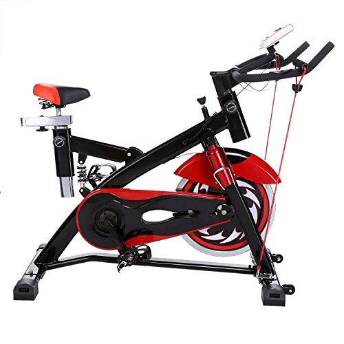 Ancheer Indoor Cycling Bike SP-4013 Ultra-quiet Fitness Spin Bike with LCD Monitor
