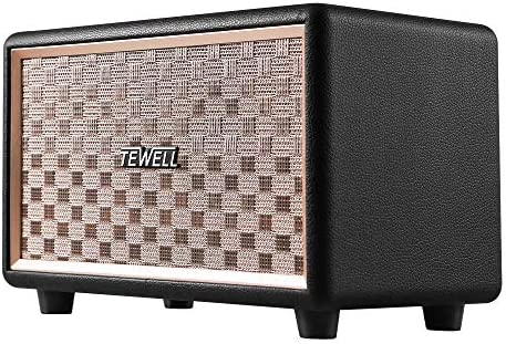 TEWELL Bluetooth Speaker with HD 24W Audio, Extended Bass and Treble, Knob  for Volume Control, Toggle Switch and 3 5mm AUX Input