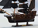 "Blackbeard's Queen Anne's Revenge 20"" - Wood Pirate Ship Model - Pirates of the Caribbean - Pirate Ship Decor - Wood Pirate Ship Model - Nautical Decoration - Model Ship - Sold Fully Assembled - Not A Model Ship Kit"