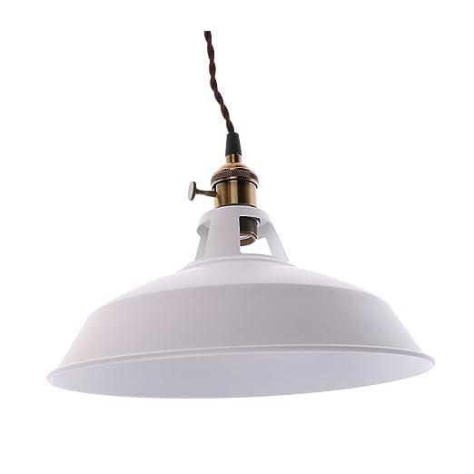 LOVIVER Lámpara De La Jaula Moderna Lámpara Colgante De La Jaula ...