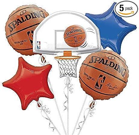 Amazon.com: NBA Baloncesto Ramo de globos: Kitchen & Dining