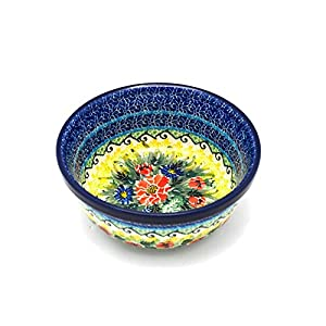Polish Pottery Bowl – Soup and Salad – Unikat Signature – U4610