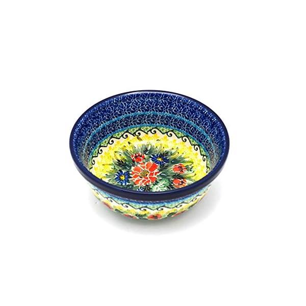 Polish Pottery Bowl – Soup and Salad – Unikat Signature – U4610