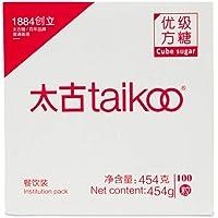 太古taikoo纯正方糖 优质白砂糖 餐饮装咖啡调糖454克