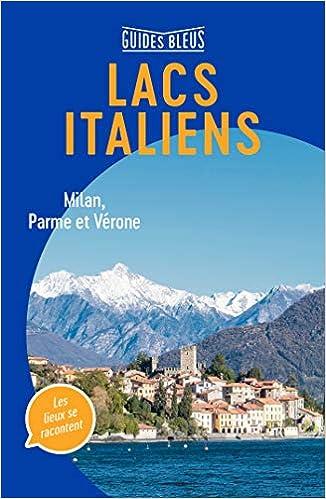 Amazon Fr Guide Bleu Lacs Italiens Collectif Livres