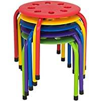 Norwood Commercial Furniture Plastic Stack Stools
