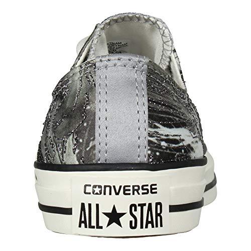 Black Converse Ox Trainers All Star Dolphin Textile Taylor Womens Chuck zqzwHU