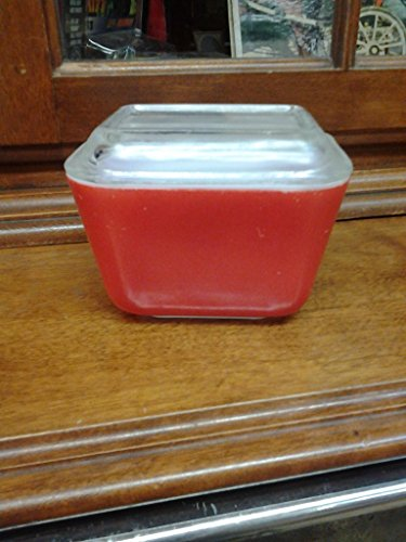 Pyrex Primary Colored Oven Refrigerator 1.5 Cup Red #501