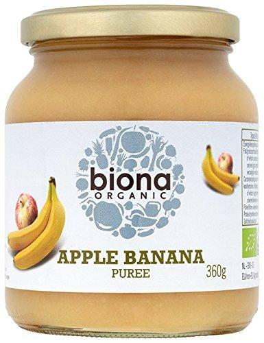 Biona Apple orgánico plátano Puré 360g: Amazon.es: Alimentación y bebidas