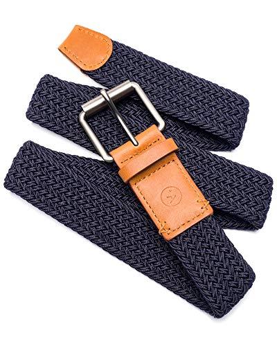 Arcade Belt Mens Smartweave Hudson Belts: Braided Elastic Webbing For A Custom Fit, Navy, M ()