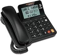 VTech AT&T CL2940 Teléfono con Cable con identificador de Llamada/Llamada en Espera, Altavoz, visualizació