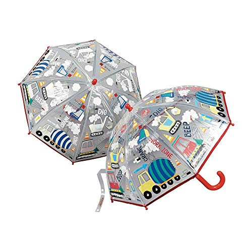 (Colour Changing Umbrella - Construction by Floss &)
