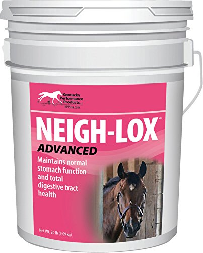 NEIGH-LOX ADVANCED DIGESTIVE SUPPLEMENT FOR HORSES - 20 POUND by DavesPestDefense