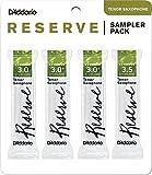 D'Addario Woodwinds DRS-K30 Reserve Tenor Saxophone Reed Sampler Pack, 3.0/3.0+/3.5