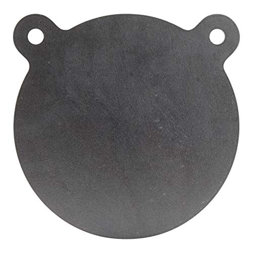 ShootingTargets7 - AR500 Steel Gong Target - 8 x 1/2 inch for Large Rifles to 338 Lapua - Laser Cut USA Steel