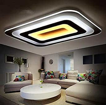 Lilamp Moderne LED-Leuchten für Innenbeleuchtung Plafon Square ...