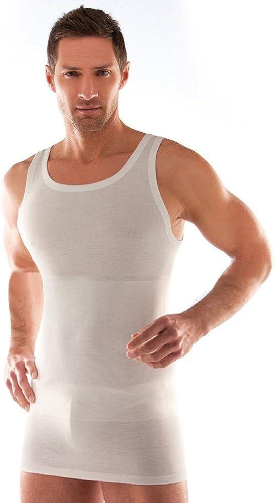 Liabel canotta spalla larga con fascia elastica tiramis/ù cotone elasticizzato art 04040//863 ideale per il supporto lombare