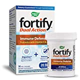 Nature's Way Fortify Dual Action Immune Defense Probiotic Vegetarian Capsules, 30 Count