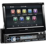 BOSS AUDIO BV9979B 7 Single-DIN In-Dash Flip-Up DVD Receiver with Bluetooth(R)