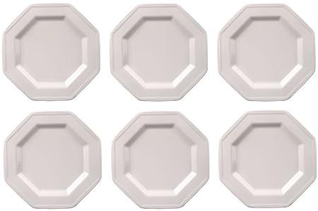 Johnson Brothers - Heritage White, Set of 6 Plates 16cm: Amazon.co ...